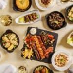 autentikus libanoni ételek az ARZ budapesti étteremben