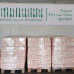 Két és fél tonna lisztet vásároltak össze a rászorulóknak az élesztőakcióban