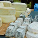 sajtok a Sajtmajálison Óbarok-Nagyegyházán