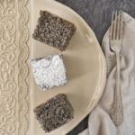 mákos kevert piskóta sütemény recept